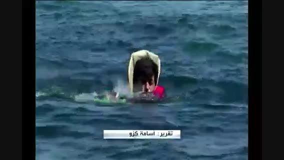 فیلم جسد کودک آواره سوری در سواحل ترکیه
