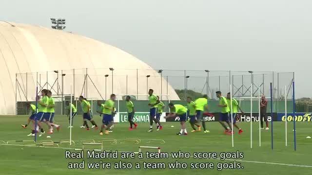 یوونتوس آماده رویارویی مقابل رئال مادرید