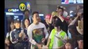 استقبال فرودگاهی ازتیم ملی کره جنوبی!!!!
