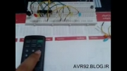 کنترل لوازم برقی با کنترل تلویزیون