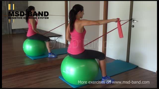 تمرین شماره 13- تقویت عضلات شانه