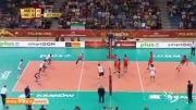 گزارشی از پیروزی تیم والیبال ایران در مقابل آمریکا
