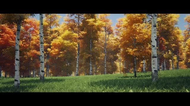 چرخه تغییر شب و روز-نمایی از این تغییر در جنگل آنریل 4
