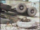 دو حادثه عجیب رانندگی در محور دالاب در شهرستان ایلام