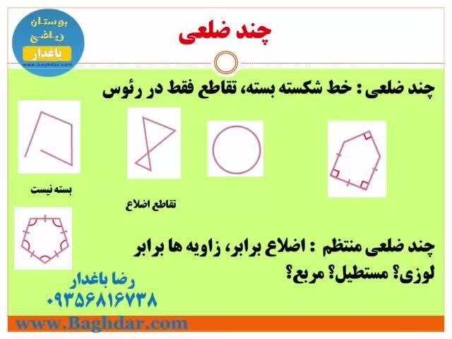 هندسه و چندضلعی ها