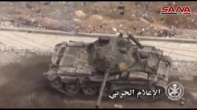 عملیات ارتش سوریه-سوریه-عراق-داعش