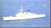غرق شدن ناو جنگی توسط زیر دریایی