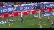 آتلتیکو مادرید 0 - 0 بارسلونا / هفته نوزدهم