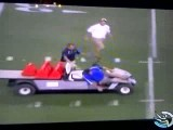 زیر گرفتن مردم با ماشین حمل مصدوم ورزشگاه