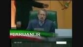 دعوای احمدی نژاد و لاریجانی در مجلس