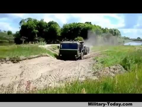 کامیون نظامی روسی BAZ-6402