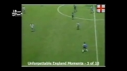 لحظه تاریخی گل مارادونا به انگلیس