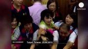دعوا و کتک کاری زنان در مجلس
