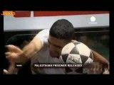 ویدیو/ آزادی فوتبالیست زندانی