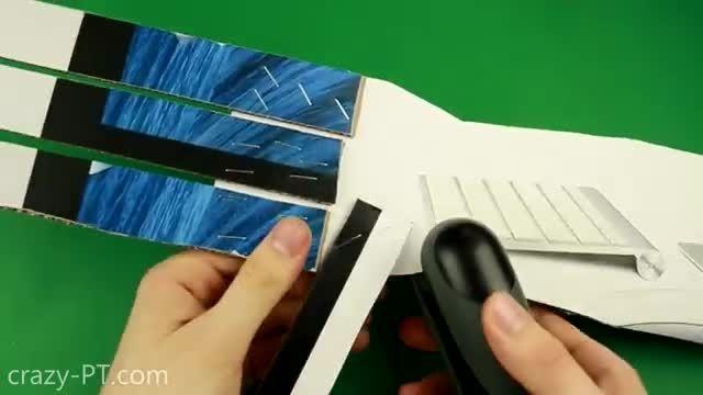 ساخت دست مصنوعی با مقوا