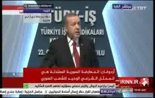 ادعای اردوغان درباره هشدار به ایران