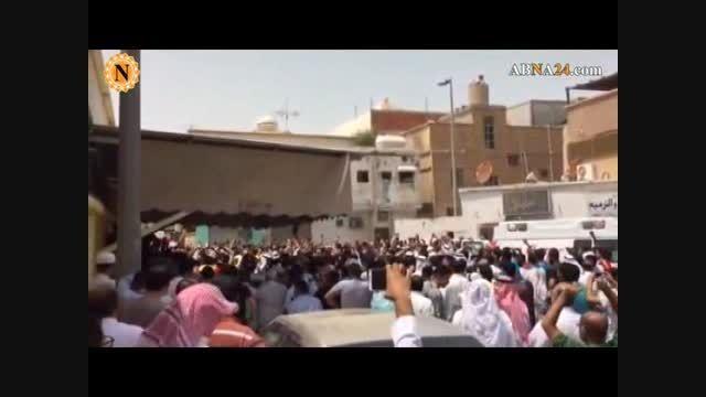 قطیف عربستان پس از انفجار امروز در مسجد امام علی(ع)