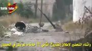 هدف قرار گرفتن تروریست ها توسط خمپاره