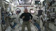 پیام شکرگزاری از ایستگاه فضایی بین المللی