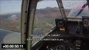 فرود اضطراری هواپیمای یاک-50 در مزرعه