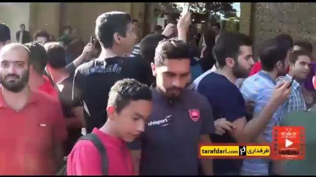 اردوی سرخپوشان در اصفهان