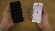 کدام یک سزیع تر بوت می شوند؟ Lumia 630 یا iPhone 5S؟