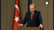 انتقاد اردوغان از کمک رسانی هوایی آمریکا به کوبانی