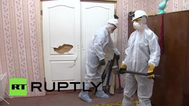 اتاقی در مسکو برای درمان استرس