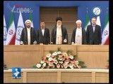 ورود با شکوه رهبر انقلاب به اجلاس سران جنبش عدم تعهد در تهران و اجرای زنده سرود جمهوری اسلامی