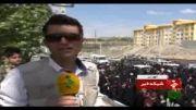 دو شهید گمنام در پردیس تشییع و به خاک سپرده شدند