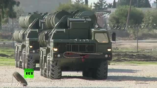 ارسال سامانه دفاع هوایی اس 400 S-400 به سوریه