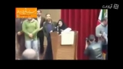 سخنرانی شجاعانه یک دختر دانشجو در جلسه علی مطهری
