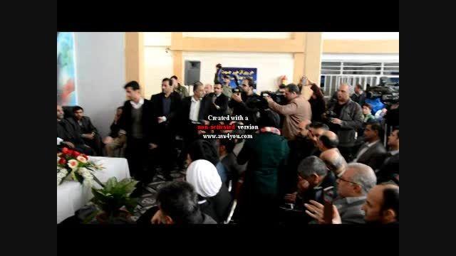 حضور وزیر محترم کشور در شهرستان ملارد