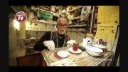 کوچک ترین قهوه خانه ایران در دل بازار بزرگ تهران