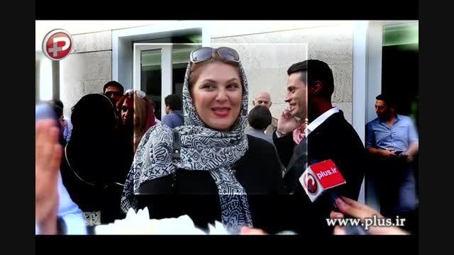 لاله اسکندری، ازدواج خواهرش ستاره اسکندری را تبریک گفت