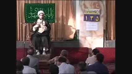 ذکر گفتن در و دیوار با ایت الله شاه ابادی و امام خمینی