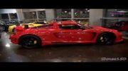 نمایشگاه خودروهای فوق العاده گران قیمت در دبی