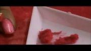 آموزش تصویری طراحی ناخن با پودر لاک مخملی