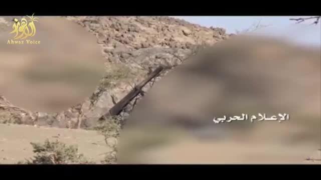"""حمله ارتش یمن به خاک عربستان با موشک های جدید""""اوراگان"""""""