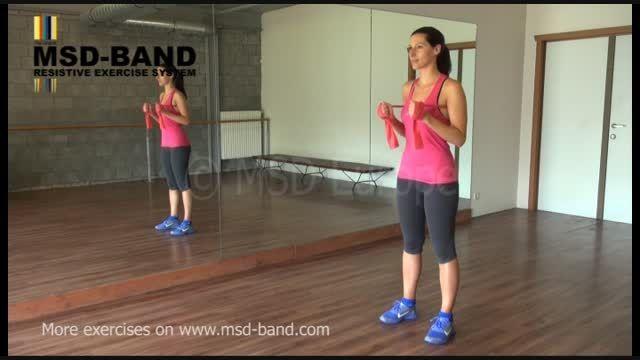 تمرین شماره 1-جهت تقویت عضلات سینه