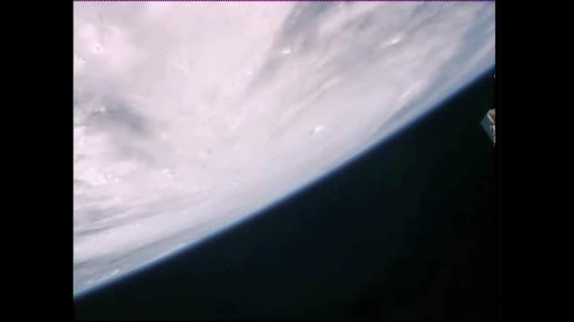 نمای توفان پاتریشیا از فضا - ناسا