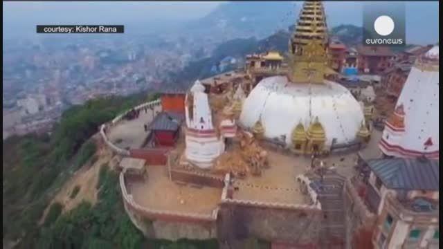 زمین لرزه 7/9 ریشتری در پایتخت نپال