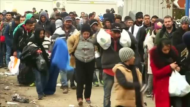 سرما و باران چالش جدید پناهجویان در مرزهای اروپا