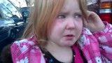 گریه دختر 4 ساله از دست اوباما و رامنی بسیار جالب