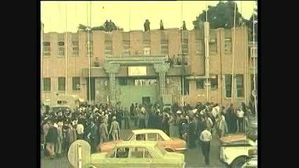 آزادی جمعی از  زندانیان سیاسی از زندان قصر - آبان  1357