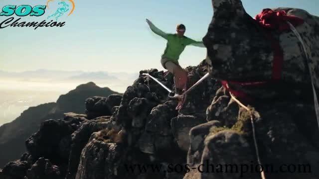 تصاویر زیبا و مهیج ورزشی طناب باز حرفه ای