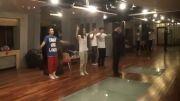 تمرین رقص لی مین هو