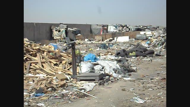 تفکیک وسیع و غیر مجاز زباله توسط اتباع بیگانه...