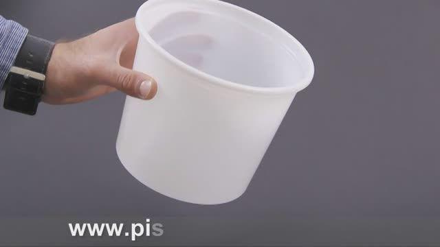 سطل ماست یکبار مصرف 3 کیلویی پیشگامان