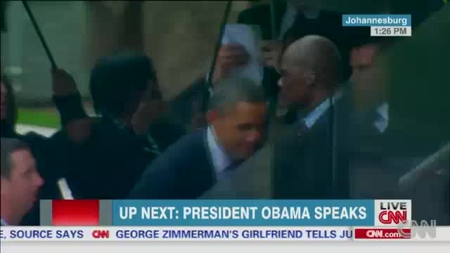 دیدار تاریخی اوباما با رهبر کوبا